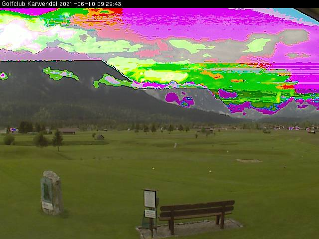 Webcam Golfplatz Wallgau
