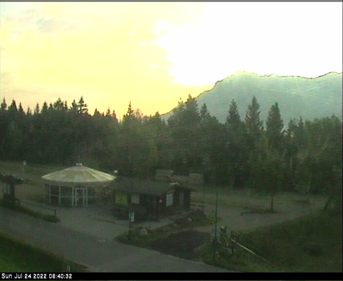 Webcam Ski Resort Mittenwald - Kranzberg Kinderpark - Bavaria Alps - Upper Bavaria