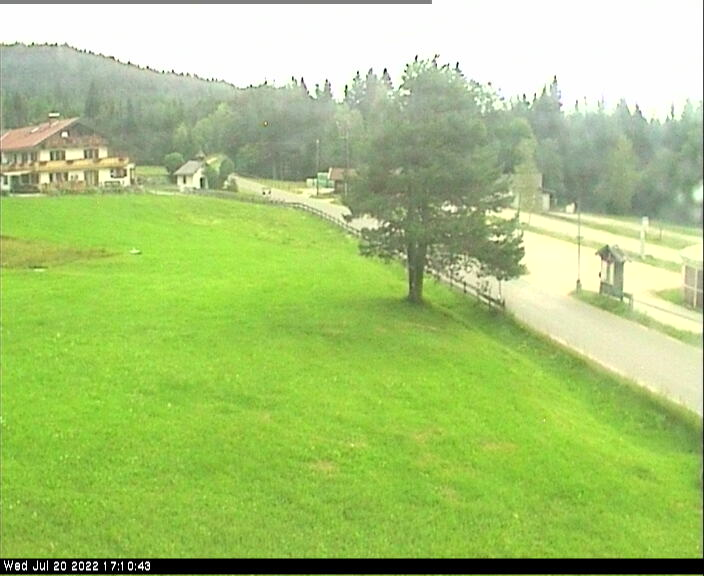 Webcam Ski Resort Mittenwald - Kranzberg Kinderpark - Bavaria Alps - Upper Bavaria