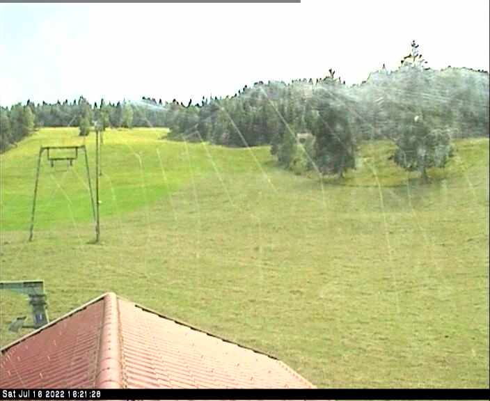Webcam Ski Resort Mittenwald - Kranzberg Peppis Iglu - Bavaria Alps - Upper Bavaria